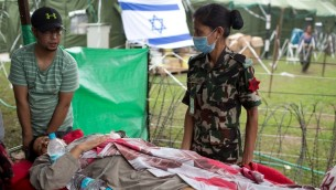 Loath to end their trip, Israeli tourists lend a hand in Nepal (The Times of Israel)